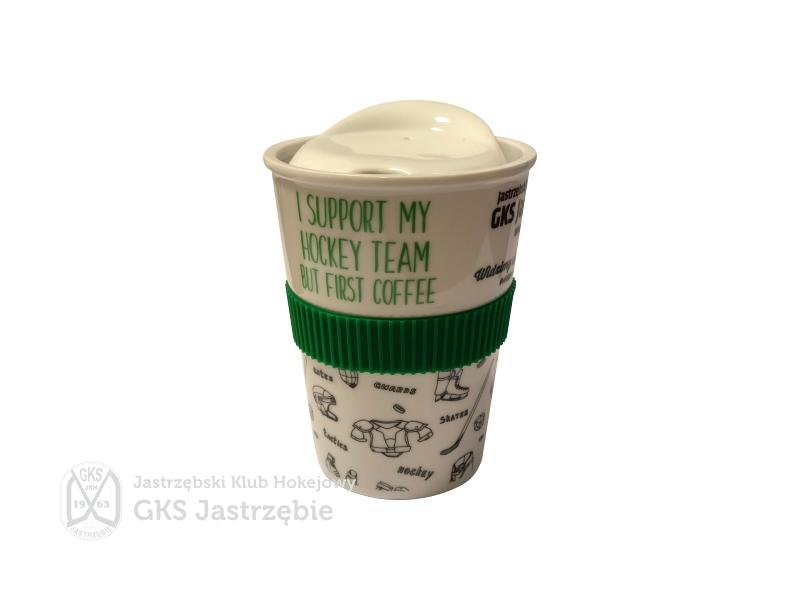 KUBEK COFFEE z logo JKH 1szt.